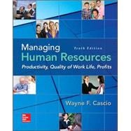 Managing Human Resources Productivity, Quality of Work Life, Profits
