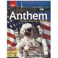 American Anthem, Modern American History 9780030432972R