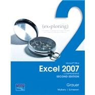 Exploring Microsoft Office Excel 2007, Comprehensive Value Pack (includes EXPL MICROSFT OFFC ACC07 V1&STU CD EXPL OFC &EXPLORING MICROSOFT OFFC PPT 07 V1&S/CD PKG)
