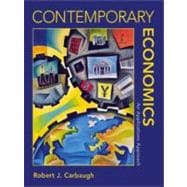 Contemporary Economics : An Applications Approach with Infotrac College Edition