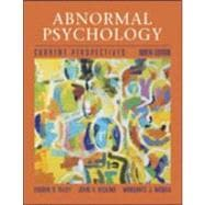 Abnormal Psychology : Current Perspectives