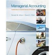 Managerial Accounting with Connect Access Card