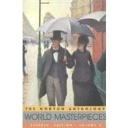 The Norton Anthology of World Masterpieces: The Western Tradition