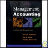 Management Accounting : Analysis and Interpretation
