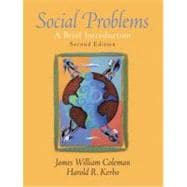 Social Problems A Brief Introduction