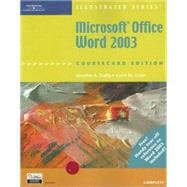 Microsoft Office Word 2003 : Illustrated, Coursecard Edition, Complete