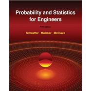 Probability and Statistics for Engineers