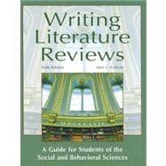 Writing literature reviews galvan