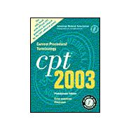 Current Procedural Terminology Cpt 2003: Color Enhanced Illustrated: Professional