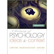 History of Psychology: Ideas and Context