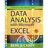 Data Analysis with Microsoft Excel: Updated for Office 2007 (with Web Site Printed Access Card), 3rd Edition