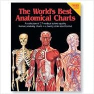 The World's Best Anatomical Charts: A Collection of 37 Medical School Quality Human Anatomy Charts in a Handy Desk-Sized Format