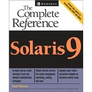 Solaris 9 - The Complete Reference