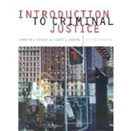 Introduction to Criminal Justice With Infotrac