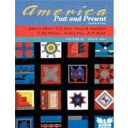 America Past and Present, Volume II (Chapters 16-33)