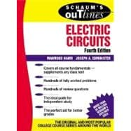 Schaum's Outline of Electric Circuts