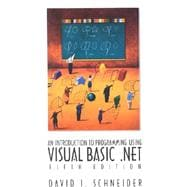 Introduction to Programming With Visual Basic .Net