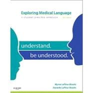 Exploring Medical Language: A Student-Directed Approach (Book with Flashcards)