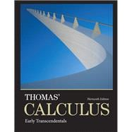 Thomas' Calculus Early Transcendentals plus MyMathLab with Pearson eText -- Access Card Package