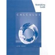 Note Taking Guide for Larson/Edwards Calculus 9e