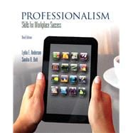 Professionalism Skills for Workplace Success Plus NEW MyStudentSuccessLab with Pearson eText -- Access Card Package