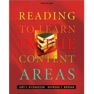 Reading to Learn in the Content Areas (with InfoTrac and CD-ROM)