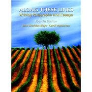 Along These Lines: Writing Paragraphs and Essays  Value Pack (includes New Handy College Dictionary & Roget's College Thesaurus in Dictionary Form New American, Revised and Enlarged Edition)