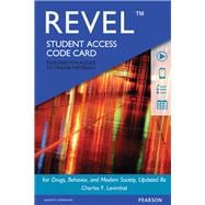 REVEL for Drugs, Behavior, and Modern Society  -- Access Card