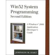 Win32 System Programming A Windows 2000 Application Developer's Guide