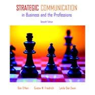 Strategic Communication in Business and the Professions