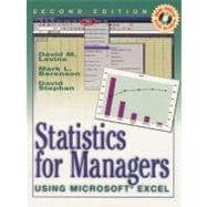 Statistics For Managers Using Microsoft Excel (2nd Ed)