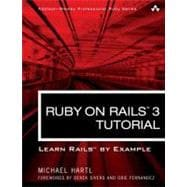 Ruby on Rails 3 Tutorial : Learn Rails by Example