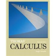 Thomas' Calculus, Single Variable plus MyMathLab with Pearson eText -- Access Card Package