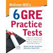McGraw-Hill's 6 GRE Practice Tests