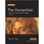 Humanities Culture, Continuity and Change, The, Volume I
