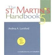 The St. Martin's Handbook; With 2003 MLA Update