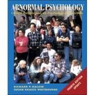 Abnormal Psychology : Clinical Perspectives on Psychological Disorders