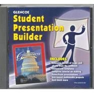 United States Government Democracy in Action, Student Presentation Builder CD-ROM