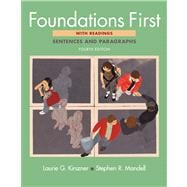 Foundations First with Readings Sentences and Paragraphs