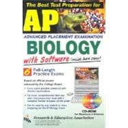AP Biology : The Best Test Preparation for the Advanced Placement Exam with REA's TESTware