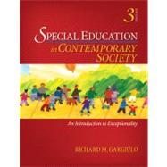 Special Education in Contemporary Society : An Introduction to Exceptionality
