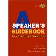A Speaker's Guidebook; Text and Reference