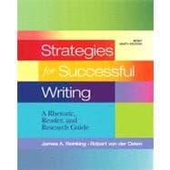 Strategies for Successful Writing A Rhetoric, Reader and Research Guide with NEW MyCompLab -- Access Card Package