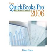 Using QuickBooks Pro 2006 for Accounting (with CD-ROM)