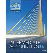 Intermediate Accounting, Sixteenth Edition