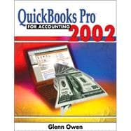 Quickbooks Pro 2002 for Accounting (Book with CD- ROM)
