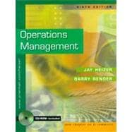 Operations Management and Interactive CD Package