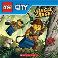 Jungle Chase! (LEGO City) 9781338173208R
