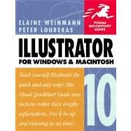Illustrator 10 for Windows and Macintosh Visual QuickStart Guide
