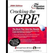 Cracking the GRE with Sample Tests on CD-ROM, 2004 Edition